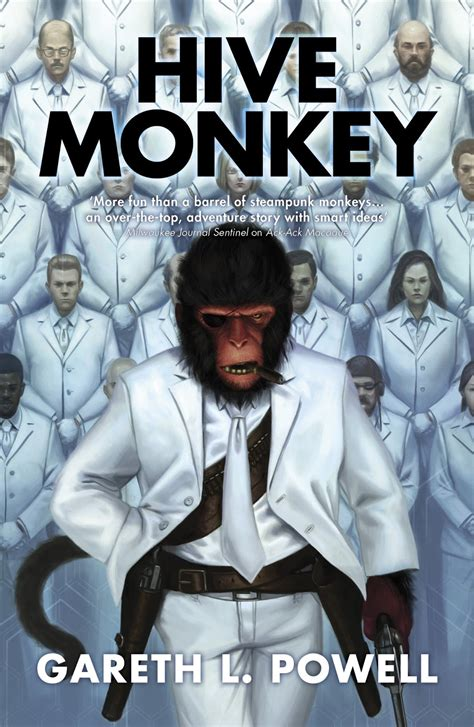 the guarding the beehive books hive monkey gareth l powell