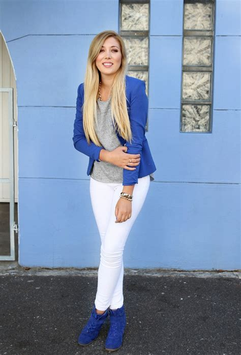 cobalt blue  powerful stylish   outfit ideas