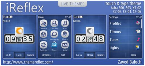 themes for nokia c2 06 touch and type ireflex theme for nokia for asha 303 x3 02 c2 06 touch