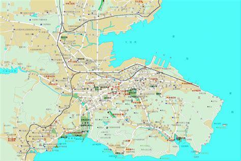 dalian map  dalian satellite image