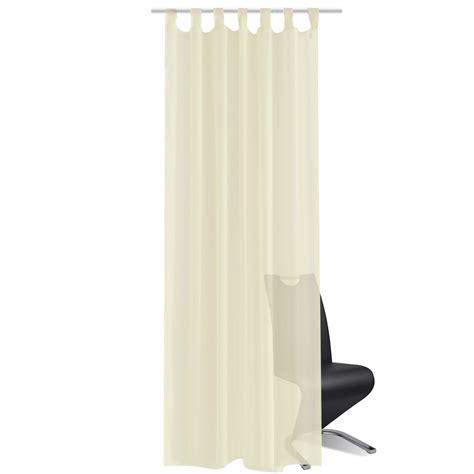 sheer cream curtains vidaxl co uk cream sheer curtain 140 x 175 cm 2 pcs