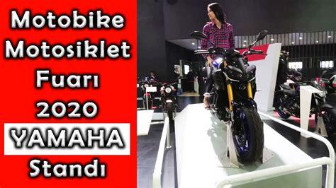 motobike istanbul  yamaha standi motosiklet fuari