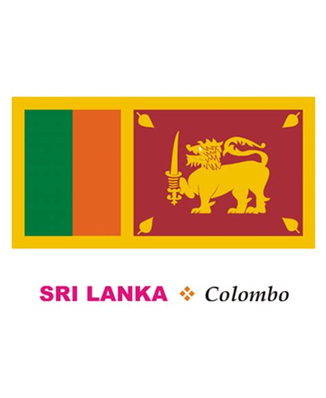 sri lanka flag coloring pages for kids to color and print