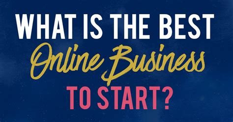 best business to start what s the best business to start from my