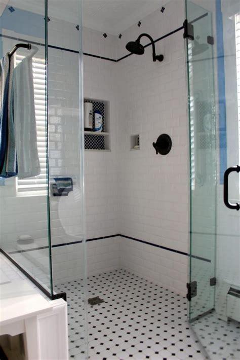 Black and white vintage bathroom photos