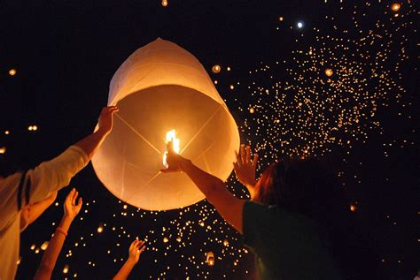 How To Make Paper Floating Lanterns - sky lantern dangers