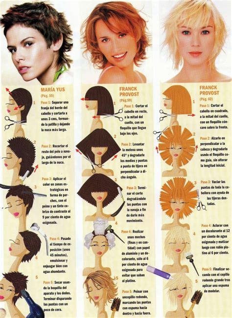 cortes de cabello grados de elevacion algunas fotos mas de cortes de pelo paso a paso bella en