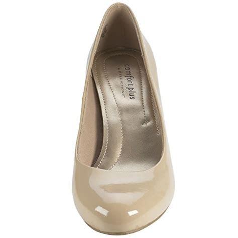 comfort plus shoes philippines comfort plus by predictions women s nude patent karmen