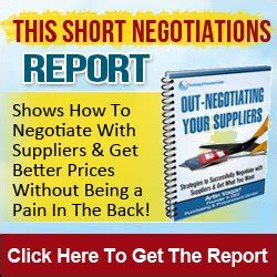 Letter To Supplier For Price Negotiation