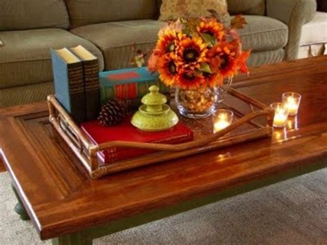 Coffee Table Decorations Ideas 43 Fall Coffee Table D 233 Cor Home Design Ideas Diy Interior Design And More