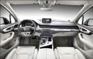 2018 audi q7 interior specs and changes audi suggestions