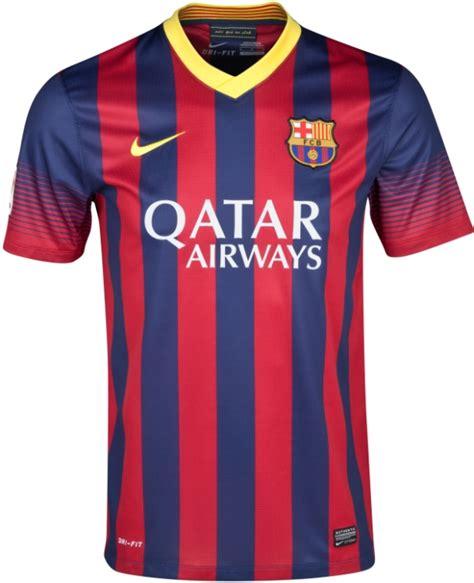 Barcelona Home Klasik barcelona 2013 2014 sezonu yeni formalar箟 yeni sezon