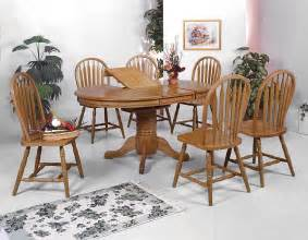 Oak Dining Room Set by Crown Mark Dark Oak Dining Room Set Dining Room Sets