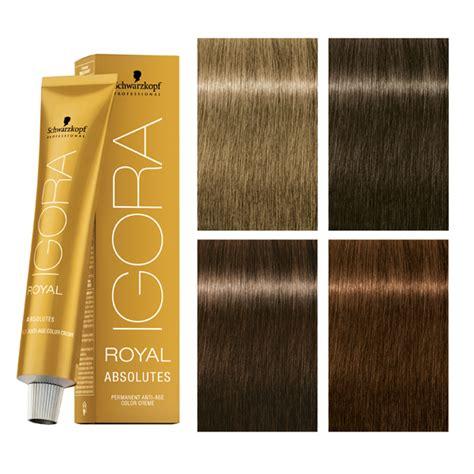 igora hair color age defying color igora royal absolutes expands