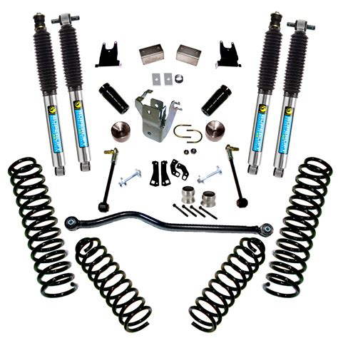 jeep shocks superlift 4 quot lift kit with bilstein shocks for 2012 2015