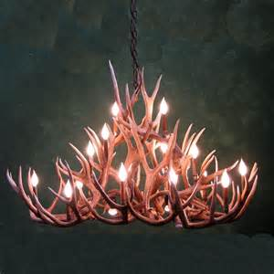 authentic antler chandelier 1000 images about antler chandeliers on