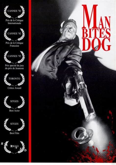 film bloody foreigners man bites dog 17 controversial movie posters digital spy