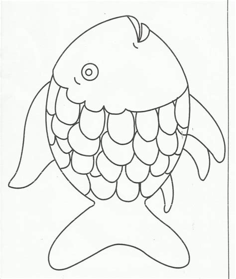 rainbow coloring page kindergarten rainbow fish coloring page free large images c4