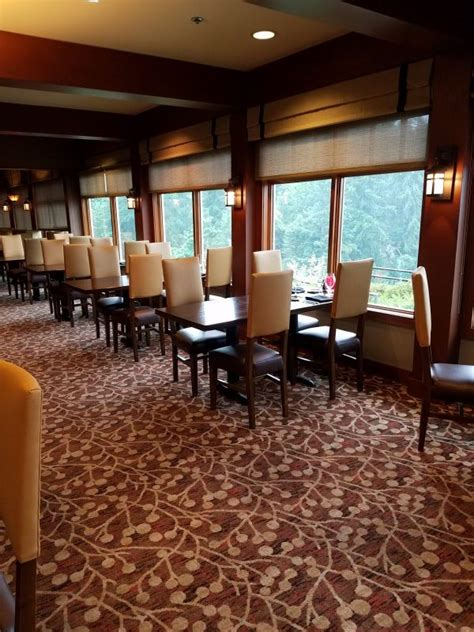 Salish Lodge Dining Room by Salish Lodge Dining Room Receives Custom Chairs By Qa