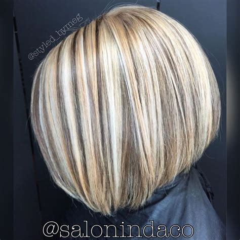 highlights and lowlighted blunt cut bob 4928 best hair ideas images on pinterest hairstyles