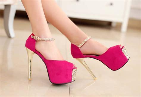 imagenes zapatos rosas tacones de moda 2018 187 tacones fucsia 5