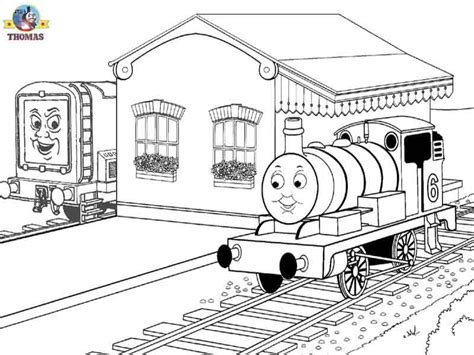 free coloring pages of james the red engine