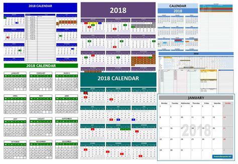2018 year calendar template expin franklinfire co