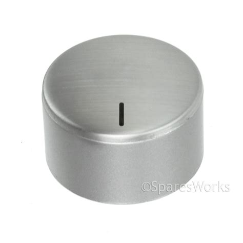 Stainless Steel Oven Knobs by Aeg Cooker Oven Hob Knob Stainless Silver