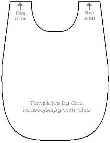 bib template baby bib template patterns