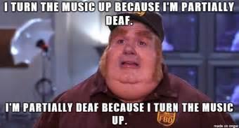 Fat Bastard Meme - loud music memes