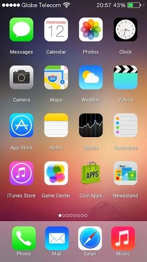 i phone theme apk ios 7 launcher 1 0 apk android apps