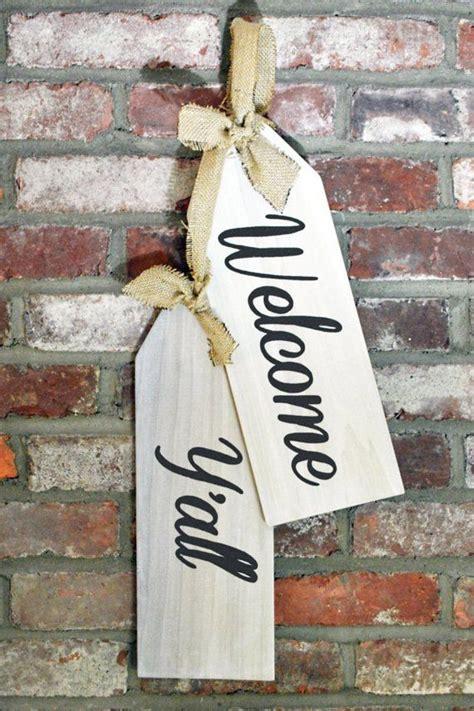 door hanger  sign  yall door