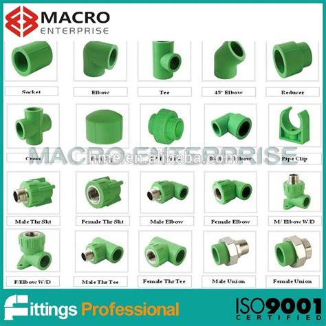 Plumbing Materials Names by Ppr Names Pipe Fittings Ppr Plumbing Pipe And Fittings