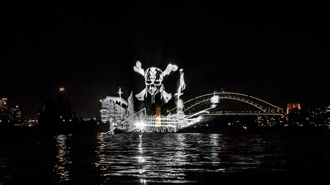 ghost ship a pirate ghost ship is sailing sydney harbour this week