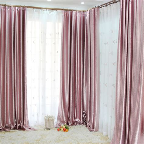 light pink satin curtains blackout baby pink curtains curtain menzilperde net