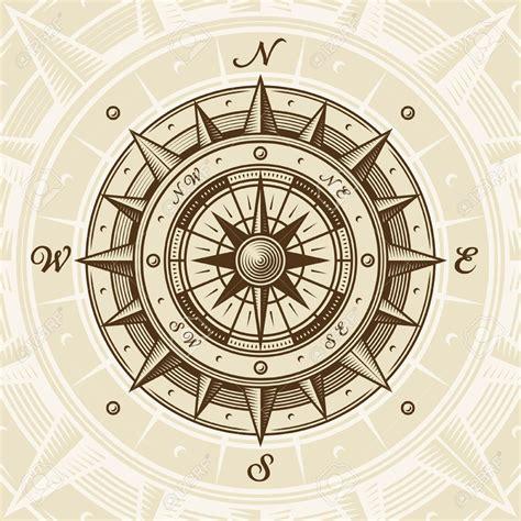 vintage compass rose tattoo des vents antique recherche