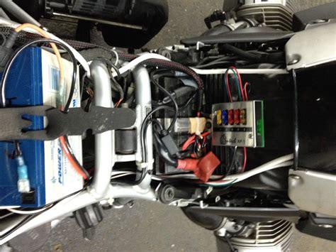 bmw gs auxiliary battery  lighting jpreardoncom