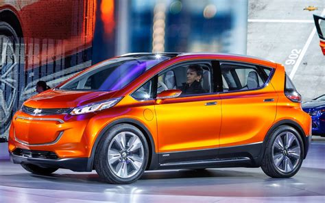 the affordable chevrolet bolt electric vehicle concept