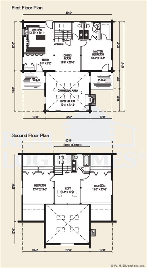 the ozark log home floor plans nh custom log homes