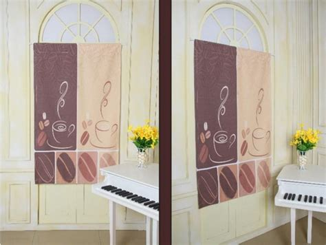 Kitchen Cafe Curtains Modern Modern Cafe Kitchen Curtains Styles Coffee Bean Design Kitchen Half Curtain Panels Rod Pocket