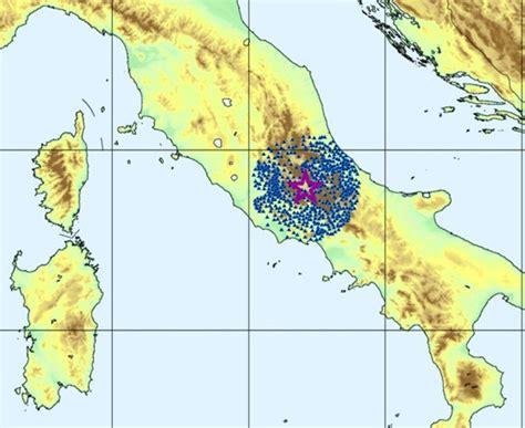 fucino frosinone terremoto 3 9 nella notte tra lazio e abruzzo paura a