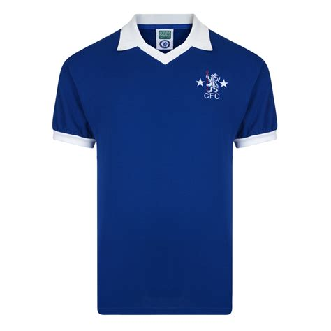 Polo Shirt Football Premier League 9 chelsea 1976 shirt chelsea fc retro jersey score draw