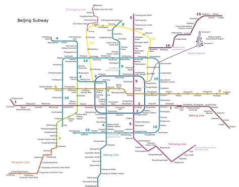 beijing subway map beijing subway map beijing subway route and timetable