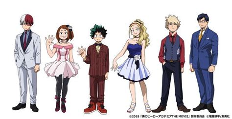 my hero academia two heroes film s young all might party