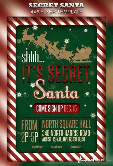 Secret Santa Flyer Templates Graphicriver Secret Santa Flyer Raffle Ticket 187 Templates4share Com Free Web Templates