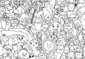 adventure time coloring book adventure time coloring pages best coloring pages for