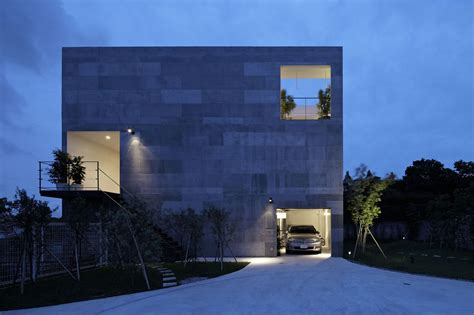 designs of walls outside of house modern home nda by no 555 architectural design office