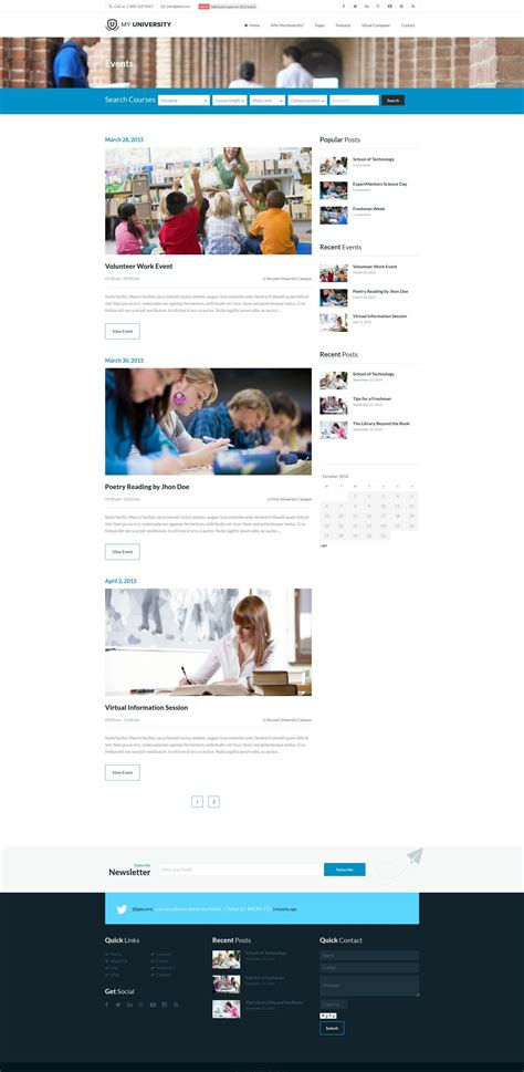 college themes wordpress my university education college wordpress theme by