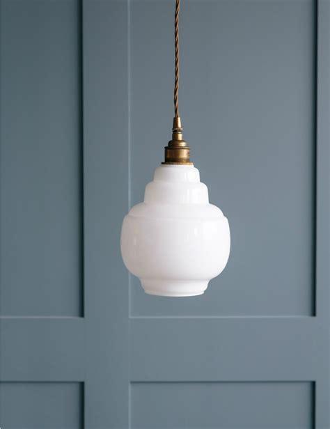 small glass pendant lights barrel opal glass pendant
