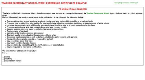 Work Experience Certificate In Hyderabad Experience Certificate Sle For School Principal Sle Experience Certificate Format For